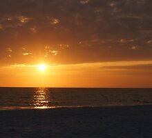 Orange Sunset by Scott Dovey