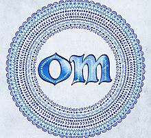 Blue OM by Tammy Wetzel