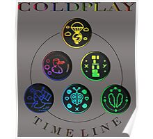 ColdPlay Timeline Poster