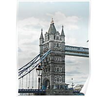 South Tower on Tower Bridge Poster