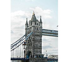 South Tower on Tower Bridge Photographic Print