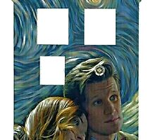 Amy and 11 Tardis by thewhovianblog