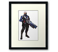 Soldier 76 Framed Print