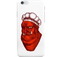 Kiss The Chef iPhone Case/Skin