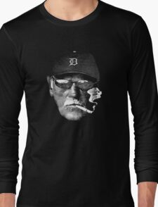 Cigarette Smoking Jim Leyland Long Sleeve T-Shirt