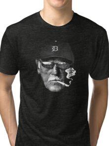 Cigarette Smoking Jim Leyland Tri-blend T-Shirt