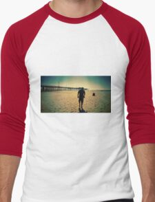 To the end of the earth  Men's Baseball ¾ T-Shirt