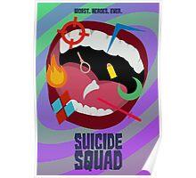 Suicide Squad Minimalist Poster Poster