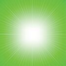 green abstract background by valeo5