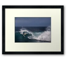 Andy Irons At O'Neill World Cup of Surfing 06-9 Framed Print