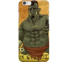 Grunt iPhone Case/Skin