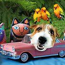 Manny's Pink Safari-mobile by Matt Mawson