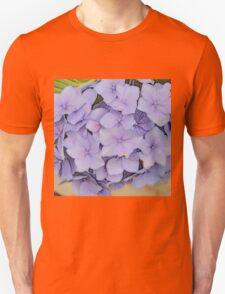 Blue Hydrangea  Unisex T-Shirt