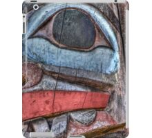 Haida First Nations Totem Carving iPad Case/Skin