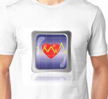 cardiogram icon Unisex T-Shirt
