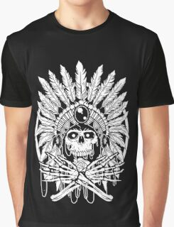 Chief Indian Graphic T-Shirt