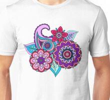 Floral Paisley Unisex T-Shirt