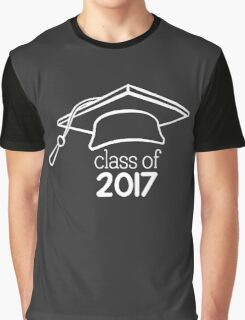 Class of 2017 College Graduation Graphic T-Shirt