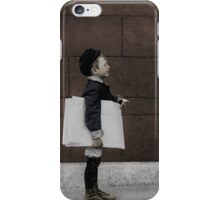 At the wall iPhone Case/Skin