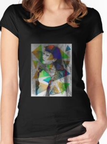 Anna May Wong Women's Fitted Scoop T-Shirt