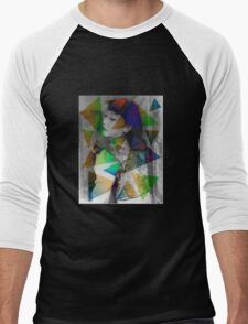 Anna May Wong Men's Baseball ¾ T-Shirt