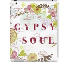 Floral Gypsy Soul .  iPad Case/Skin