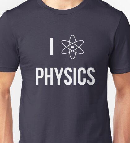 I (heart) physics Unisex T-Shirt
