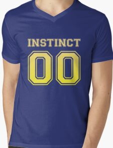 'Instinct' Varsity Tee (Gradient) Mens V-Neck T-Shirt