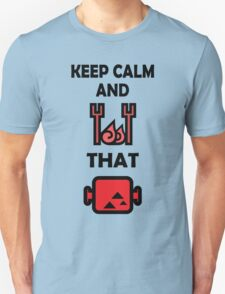 Keep Calm and BBQ that Meat Unisex T-Shirt