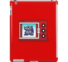digimon vpet v1 metalgreymon iPad Case/Skin