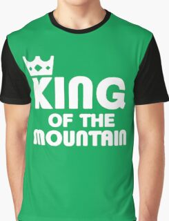 King of the Mountain Cycling Bike MTB Graphic T-Shirt