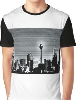 Graphite Skyline Graphic T-Shirt