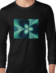 Fractal Ice Long Sleeve T-Shirt
