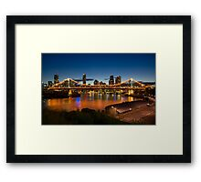 Storey Bridge at Twilight Framed Print