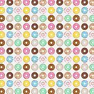 Donuts Galore by Corinna Djaferis