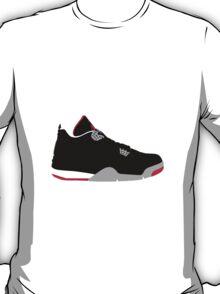 AIR JORDAN IV (4) BRED T-Shirt