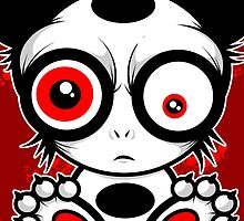 Angry Panda Red Version by spazzynewton