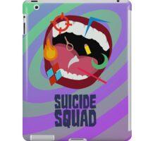 Suicide Squad Minimalist Poster iPad Case/Skin