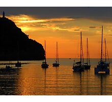 Sunset Over Port de Soller............................Majorca Photographic Print