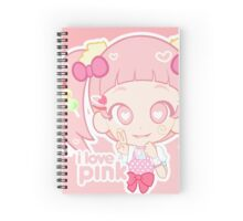 i love pink! Spiral Notebook