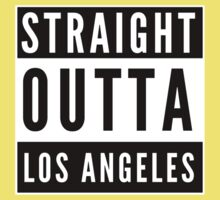Straight Outta Los Angeles One Piece - Short Sleeve
