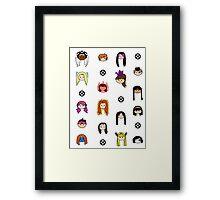 X-Women Framed Print