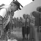 The Wall That Heals; Vietnam Memorial Wall; Irvine, CA USA by leih2008
