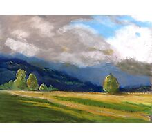 Stormy day over the Liverpool Ranges  Photographic Print