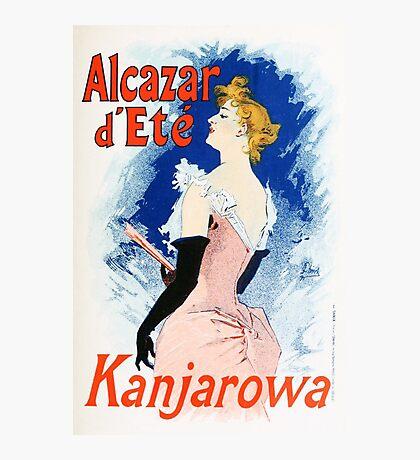 Vintage Jules Cheret 1896 Kanjarowa Photographic Print