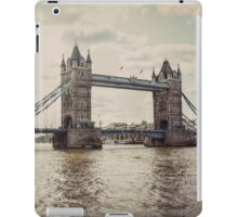 Vintage Photograph of Tower Bridge iPad Case/Skin