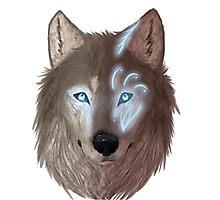 Mystical wolf Photographic Print