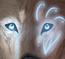 Mystical wolf Sticker