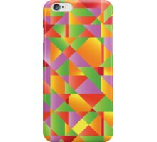 abstract mosaic background iPhone Case/Skin