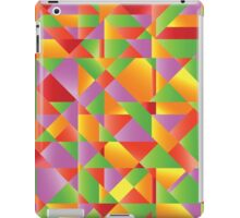 abstract mosaic background iPad Case/Skin